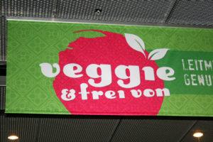 """Willkommen bei der """"Veggie und frei von""""."""