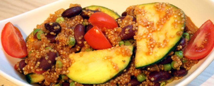 Quinoa-Paella