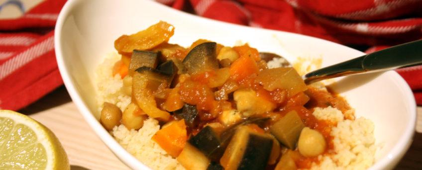 Couscous mit Gemüse-Tajine