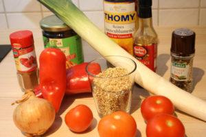 Buchweizen-Gemüse-Pfanne