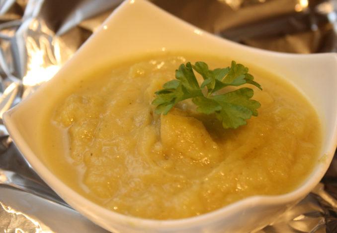 Pastinaken-Fenchel-Suppe