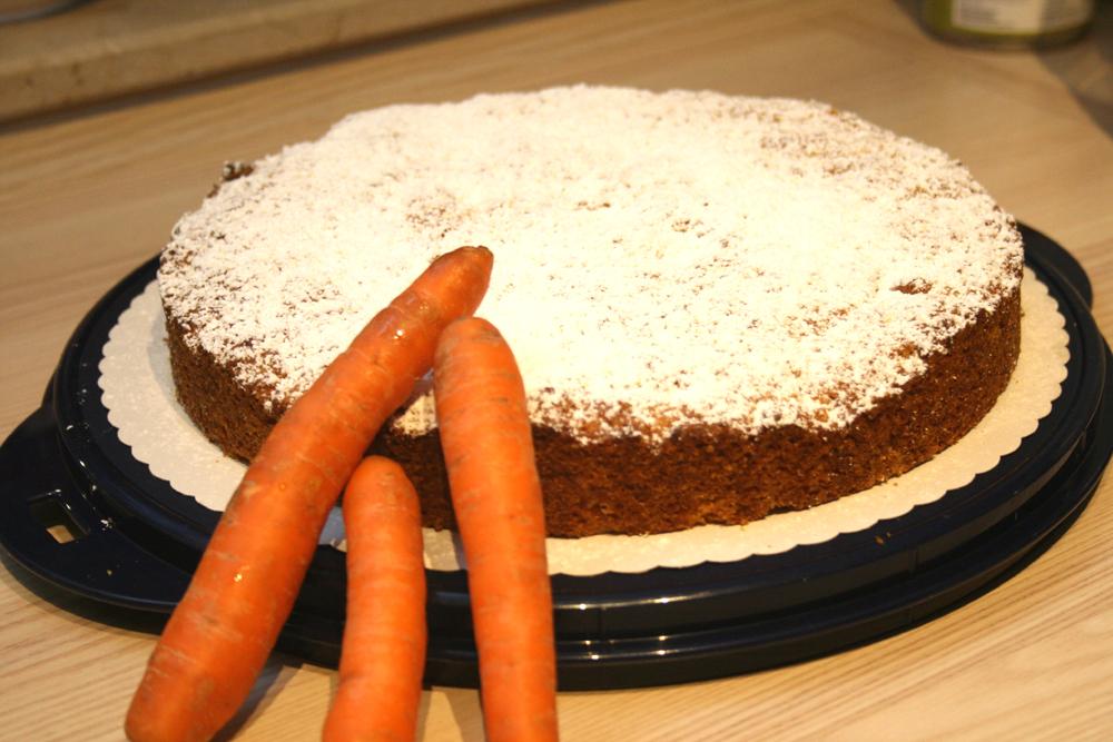 Karottenkuchen Vegan Schurzentragerin