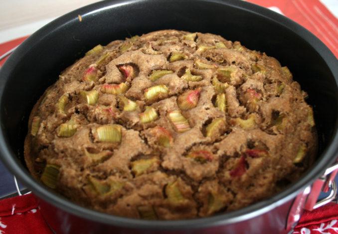 Rhabarberkuchen (vegan)