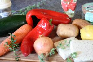 Veggie-Grillspieße
