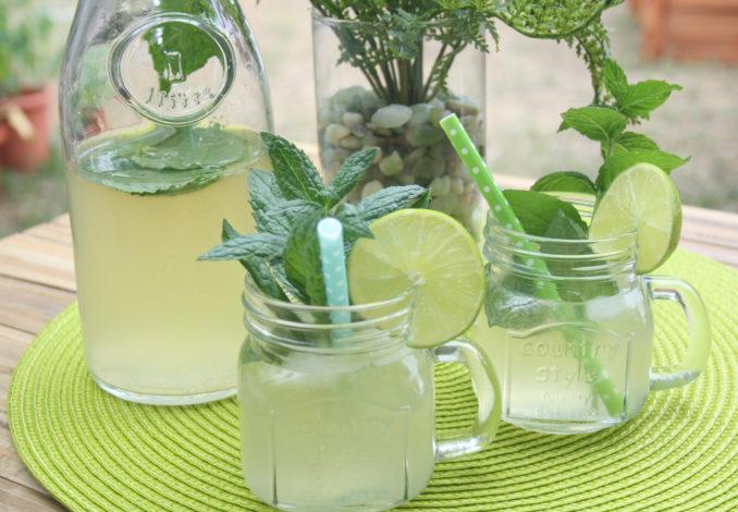 Ingwer-Limetten-Limonade