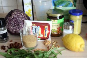 Rotkohl-Couscous-Salat