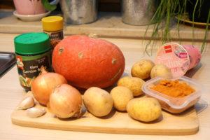 Feine Kürbis-Kartoffel-Suppe