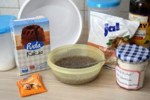 Chia-Kakao-Plätzchen