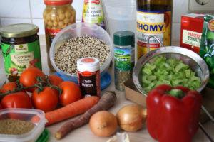 Quinoa-Kichererbsen-Pot
