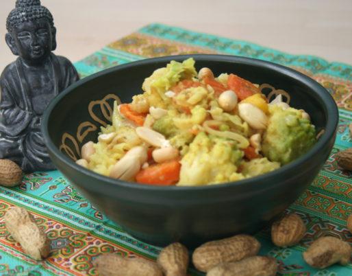 Romanesco-Curry