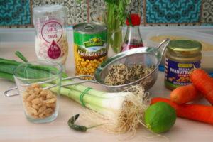 Thai-Quinoa-Fleischbällchen
