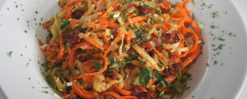 Zoodles aglio e olio