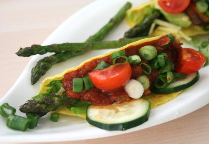 Spargel-Tacos