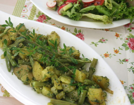 Bohnen-Kartoffel-Pfanne
