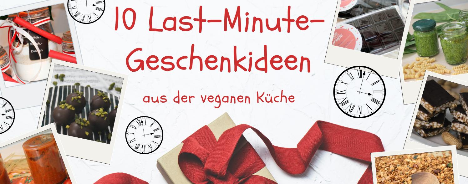 10 Last-Minute-Geschenkideen aus der veganen Küche ...