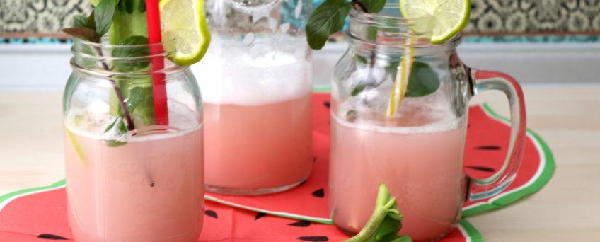 Rhabarber-Limonade