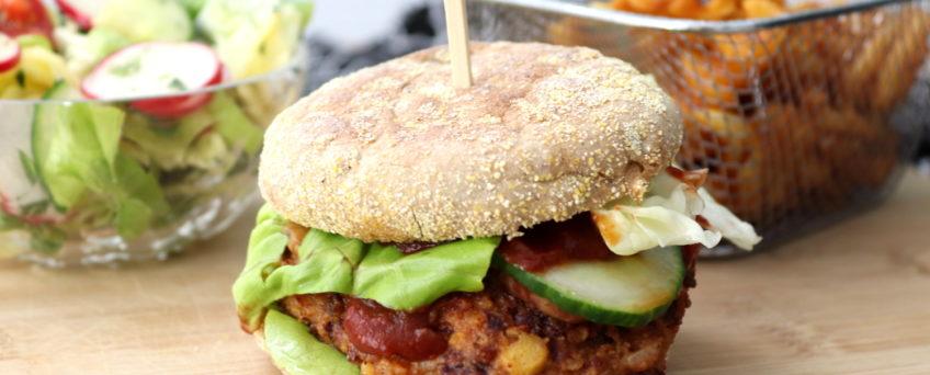 Kidneybohnen-Burger