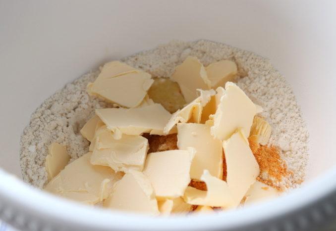 Marzipan-Orangen-Plätzchen