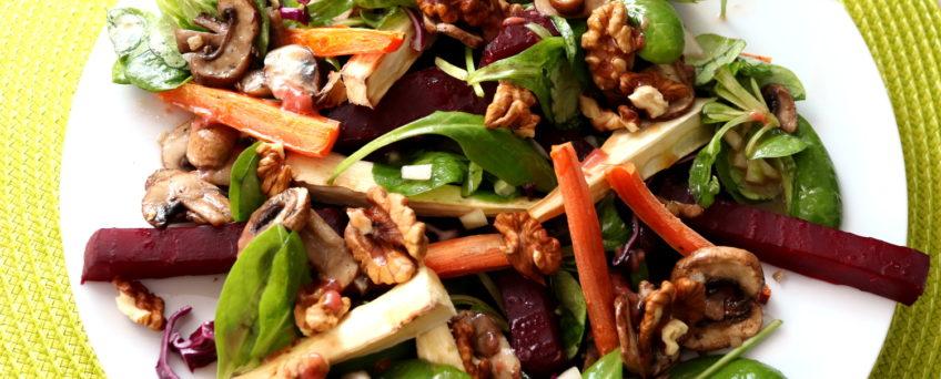 Spinat-Feldsalat