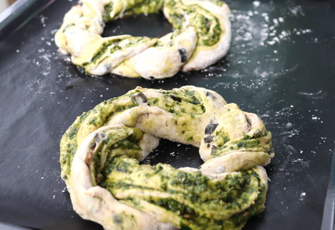 Pesto-Kringel