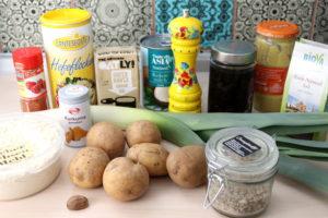 Kartoffel-Lauch-Auflauf