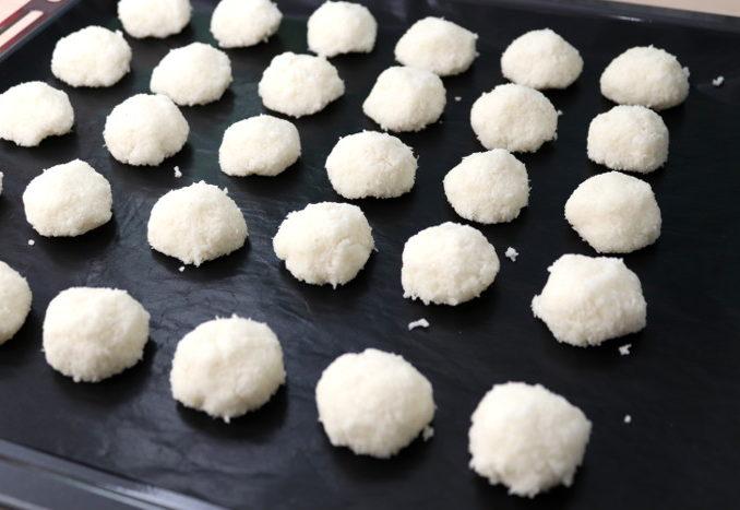 vegane Kokosmakronen