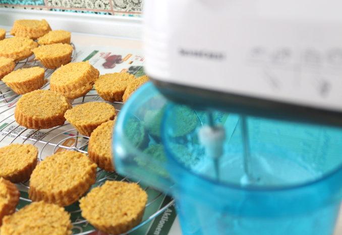 vegane Karotten-Cupcakes