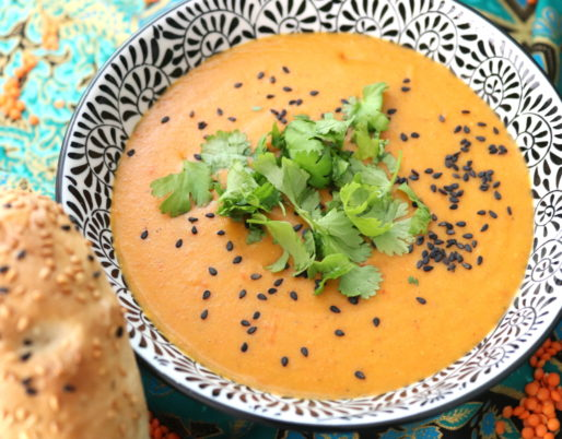 Rote-Linsen-Suppe